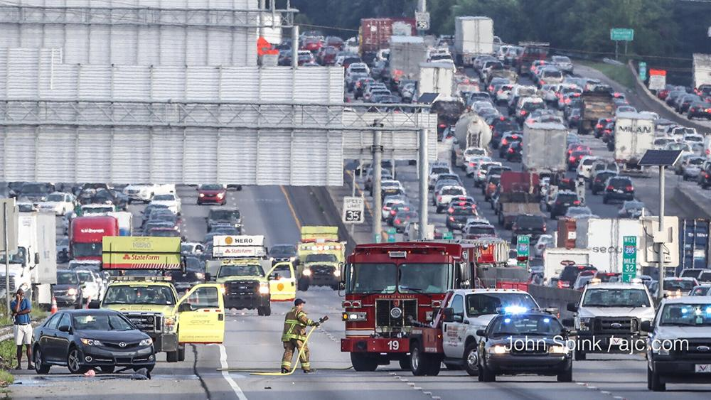 3 of America's 10 worst truck bottlenecks are in metro Atlanta