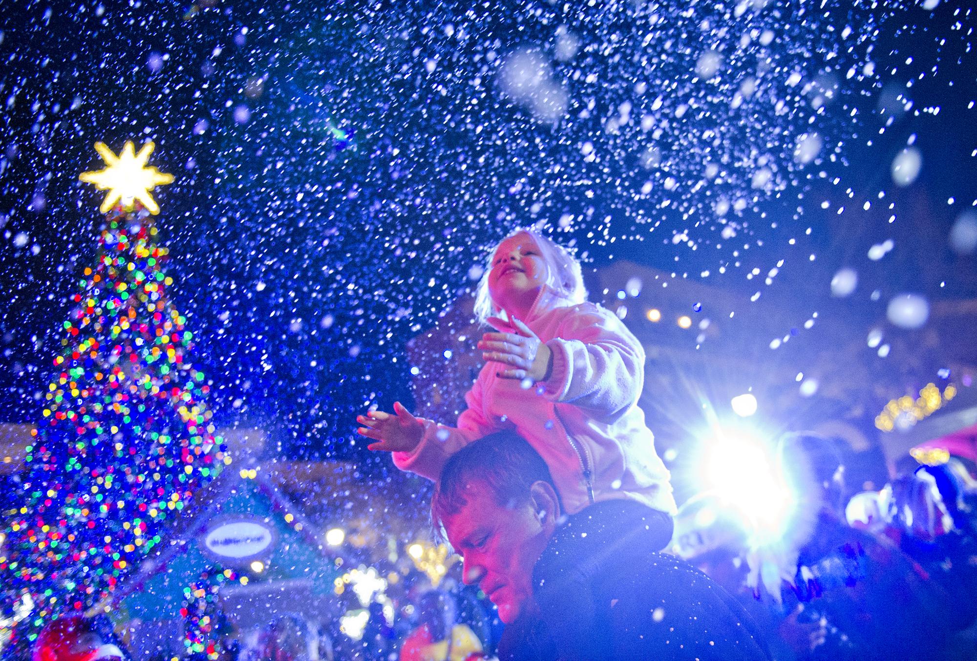 Your guide to Christmas tree lighting events around metro Atlanta