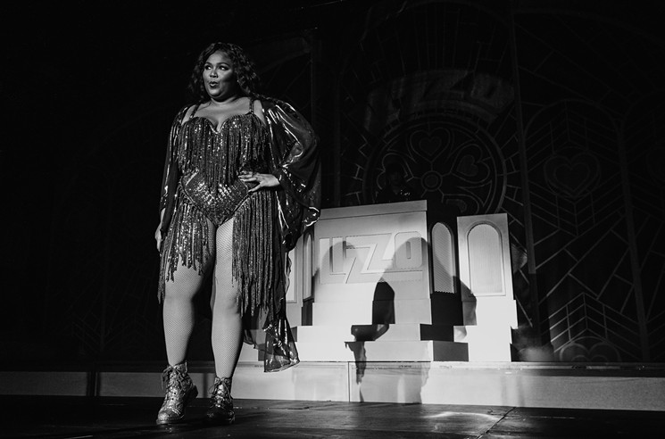 Watch: Lizzo Shares a Whole Lotta Love With Dallas