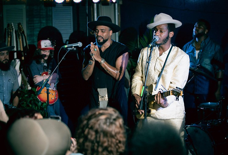 Watch: Leon Bridges Pops Up at Twilite Lounge
